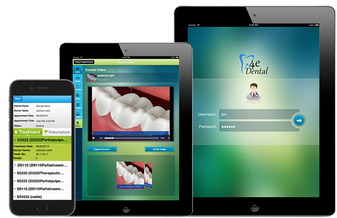 4eDental is an EMR System providing consistency, accessibility & security supported by Software as a Service (SaaS)  on Cloud